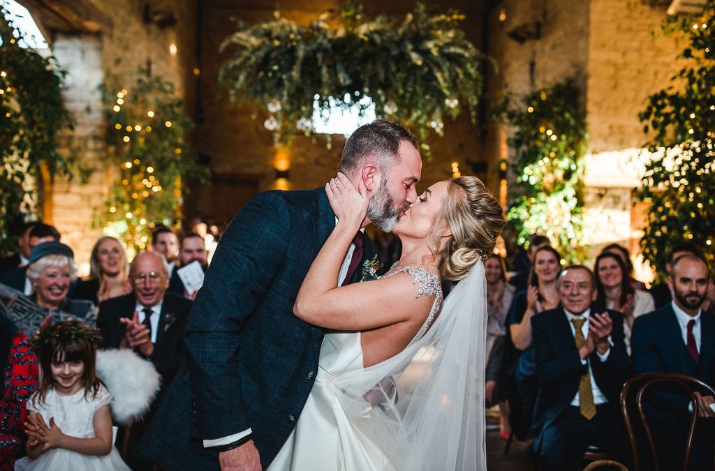 Cripps Barn Christmas Wedding