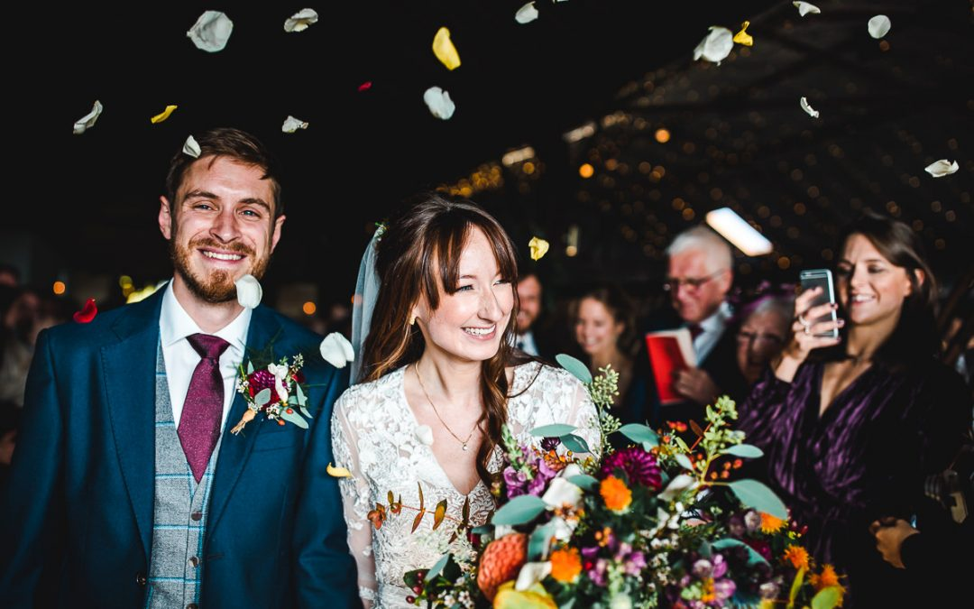 Stunning Seasonal Stone Barn Wedding – Tash & Will